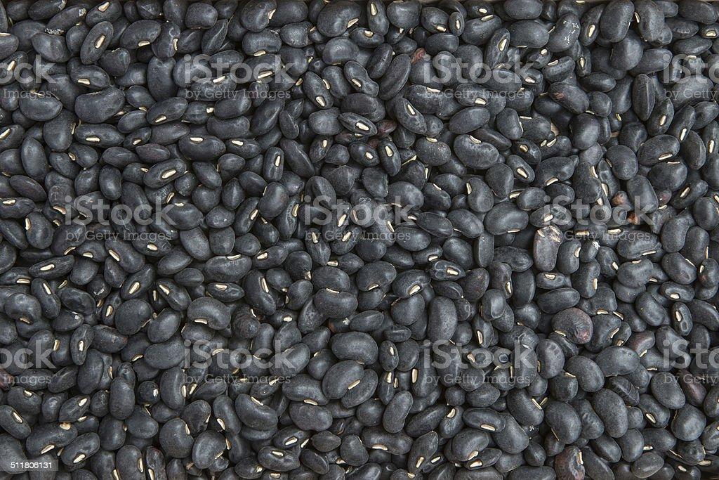 Schwarze Bohnen-Hintergrund – Foto