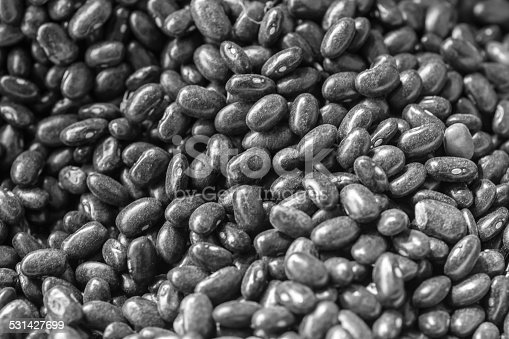 istock black beans group as a background, B/N 531427699