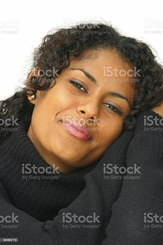 Black Beauty royalty-free stock photo