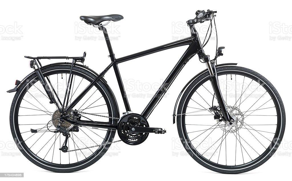 Black Bike stock photo