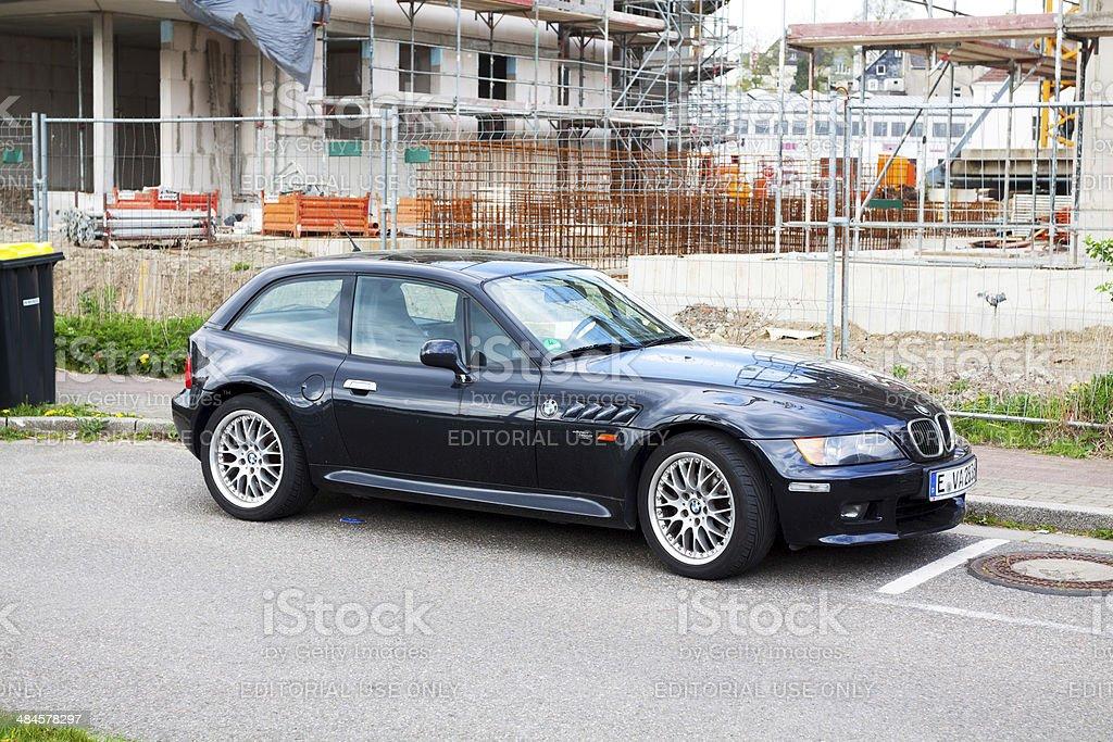 Black BMW Z3 coupé – Foto