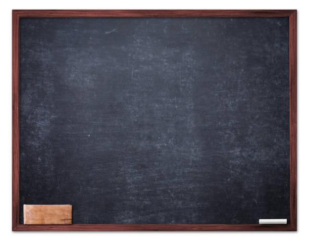 black board background - teacher school solo imagens e fotografias de stock
