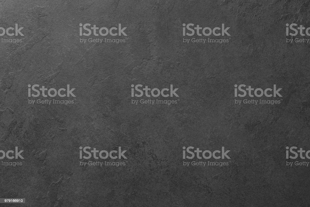 Black board or black stone background texture stock photo