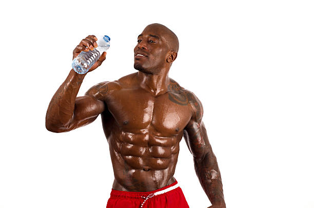 27 Tattoo Body Building Drinking Sport Stock Photos Pictures Royalty Free Images Istock