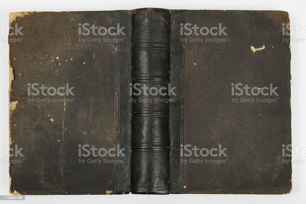 Black book cover royalty-free stock photo