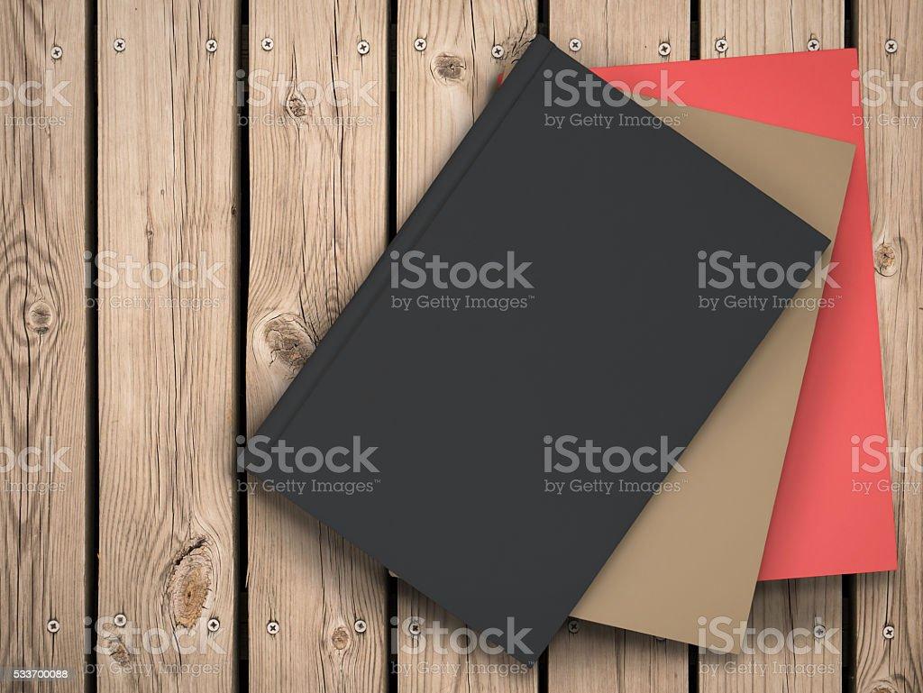 black book stock photo