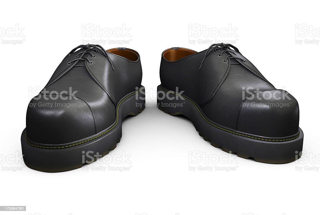 Black Boots stock photo