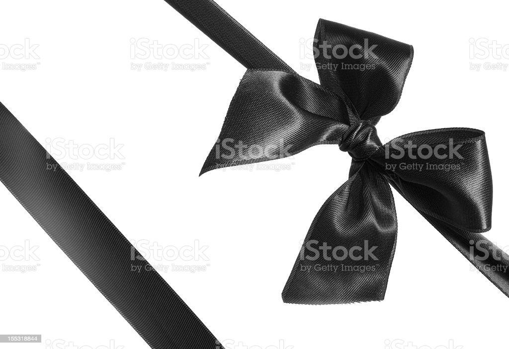 black bow stock photo
