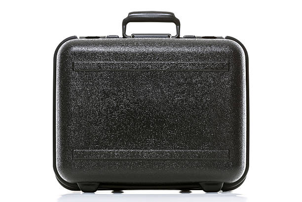 black box nahaufnahme - gepäck verpackung stock-fotos und bilder
