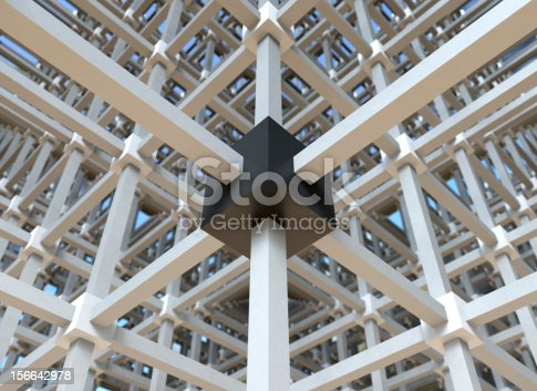 istock Black box in a network structure 156642978