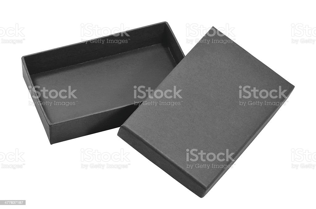 Scatola nera - foto stock