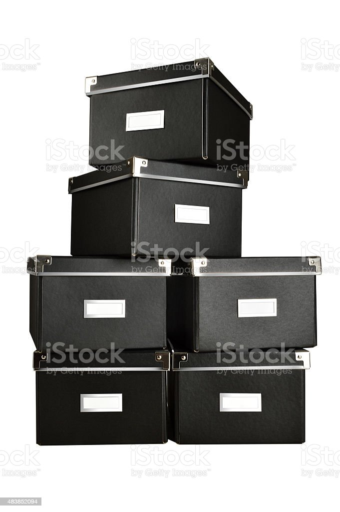 Caixas negras (Clique para mais - foto de acervo