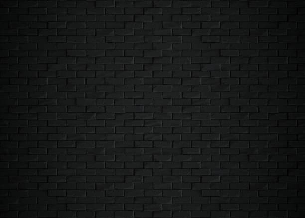Black bricks 3d rendering black bricks, isolated, 3d, rendering, white background brick stock pictures, royalty-free photos & images