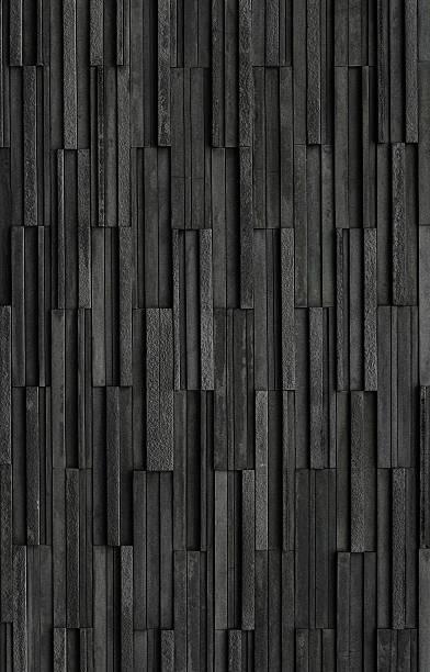 black bricks slate texture background, slate stone wall texture - schiefer fliesen stock-fotos und bilder