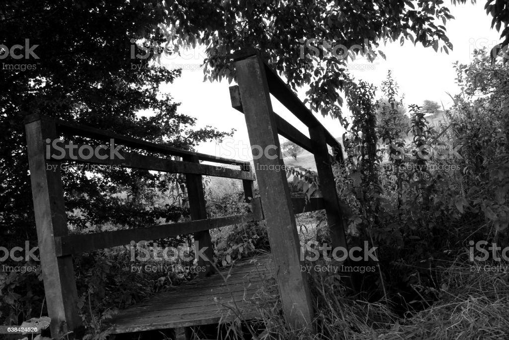 Black Bridge stock photo