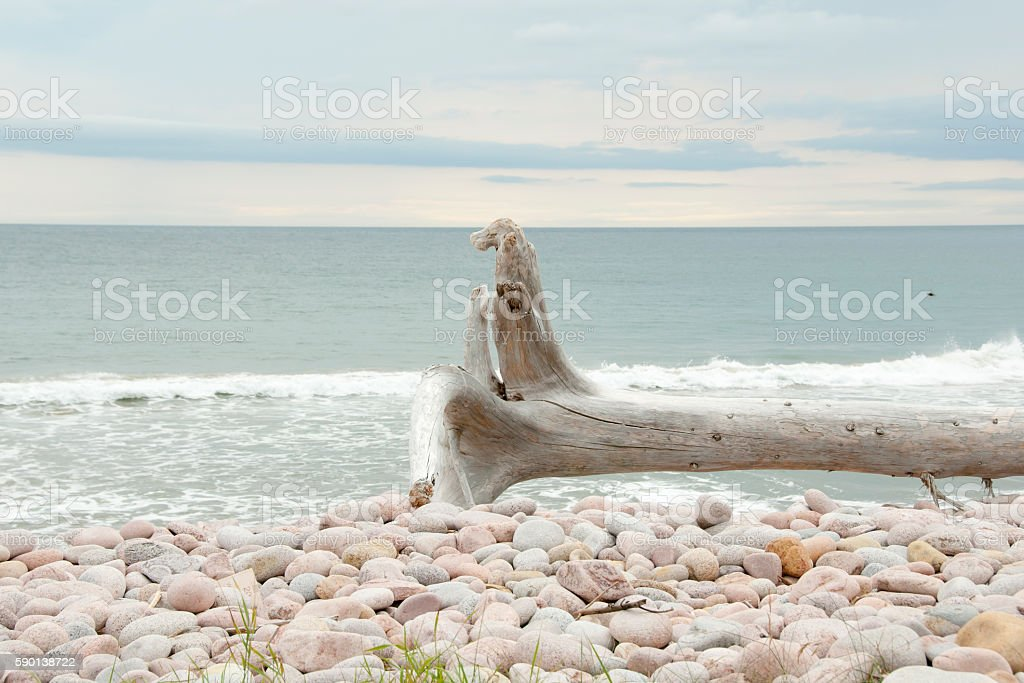 Black Brooke Cove - Cape Breton - Nova Scotia stock photo