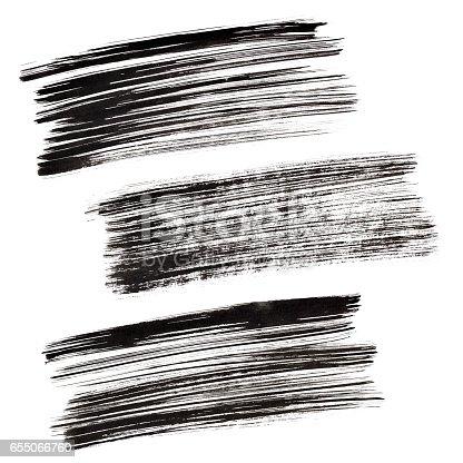 istock Black brush strokes 655066760