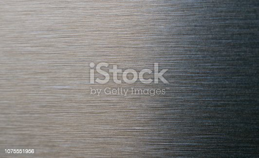 istock Black Brushed Metal Texture 1075551956