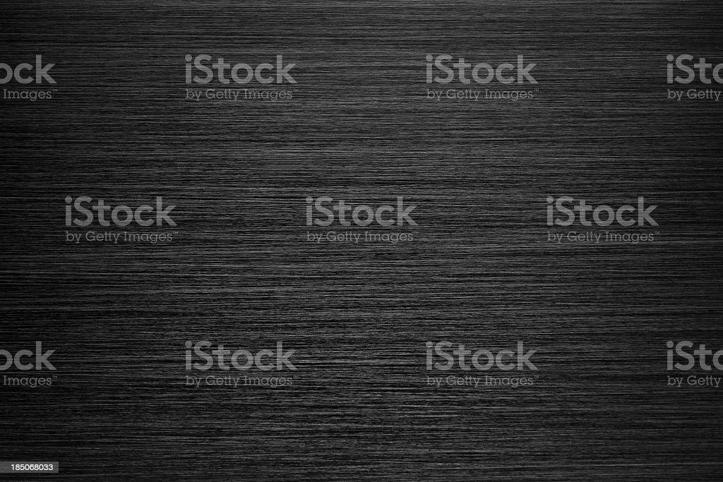 Schwarz gebürstet Metall Textur – Foto