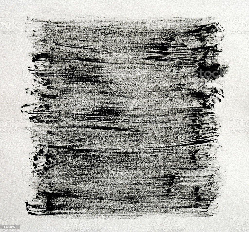 black brushlines royalty-free stock photo