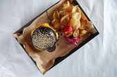 istock Black burger 1044049686