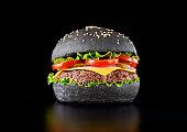 istock Black burger 684063724