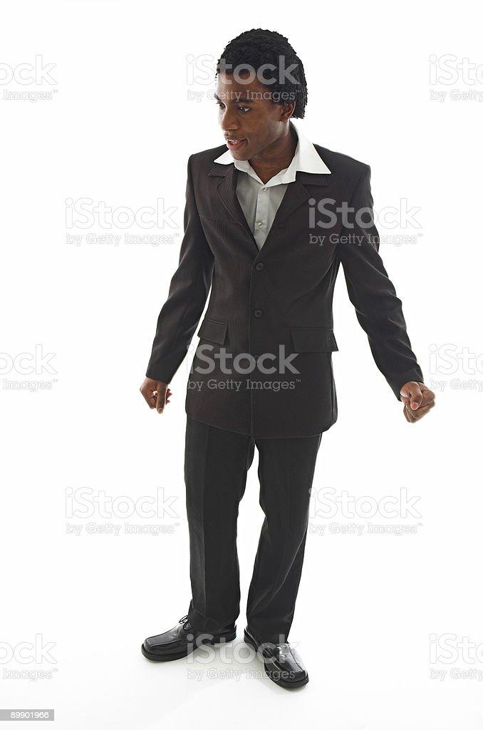 Negro de negocios foto de stock libre de derechos