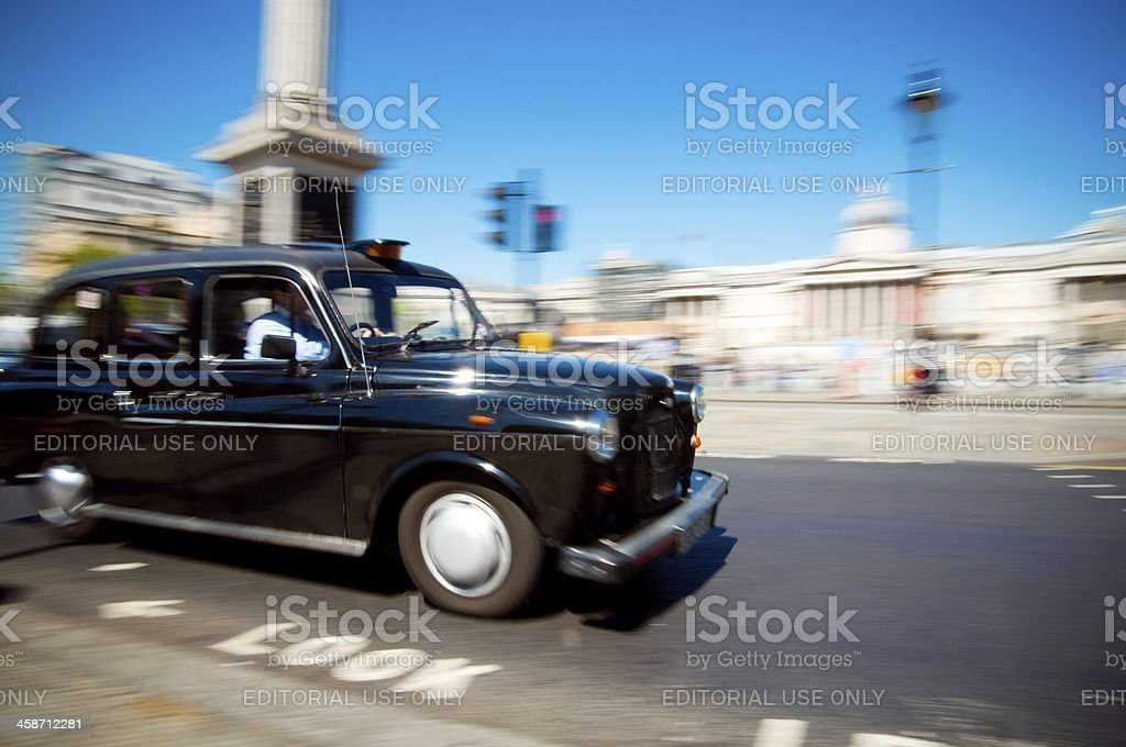 Black Cab die traditionelle Taxi vom London – Foto