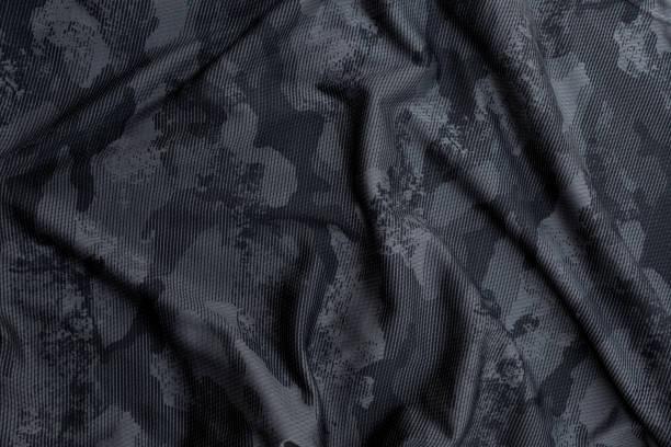 black camouflage military background – zdjęcie