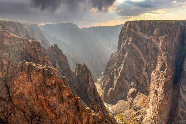 Black Canyon of Gunnison stock photo