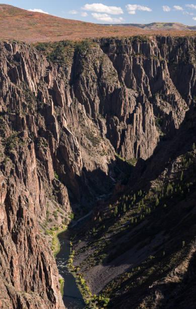 Black Canyon of the Gunnison National Park, Colorado. stock photo