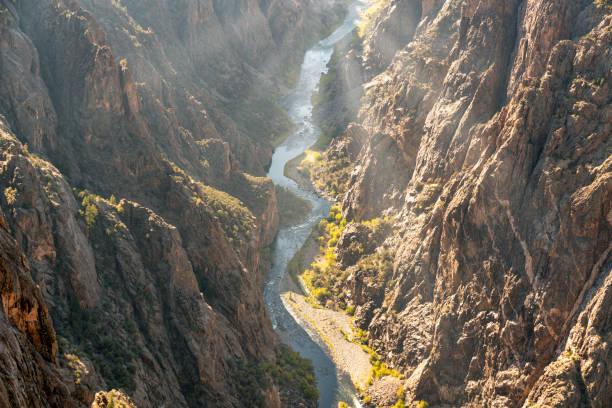 Black Canyon of the Gunnison stock photo