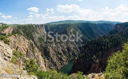 Black Canyon of the Gunnison National Park, north rim, Colorado, USA