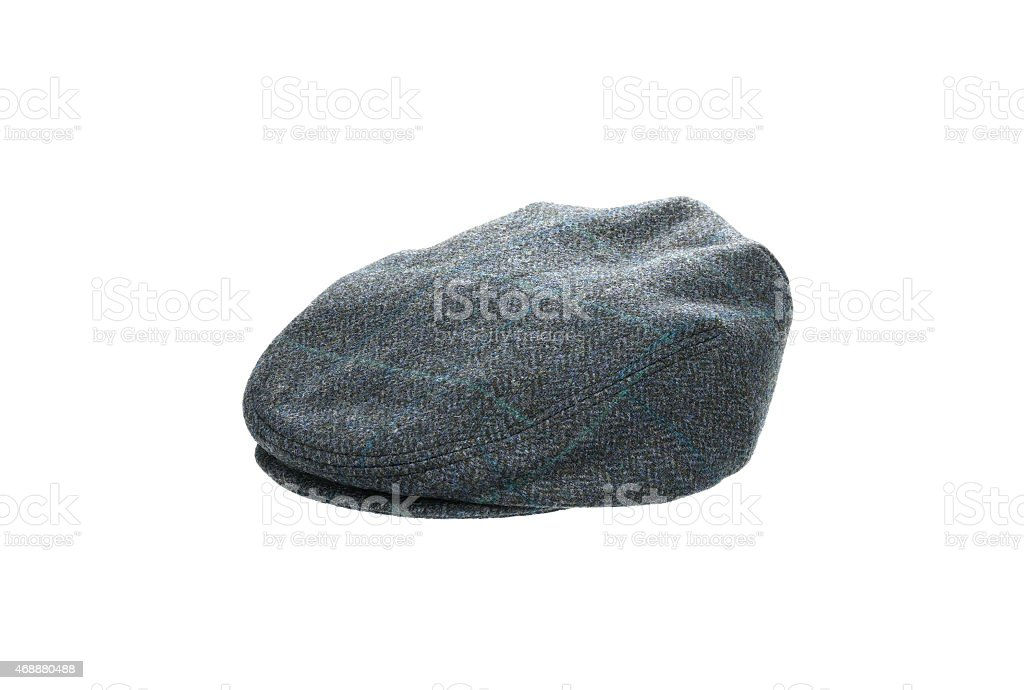 fca2613d1c2a8 Black Cap Isolated On A White Background Stock Photo   More Pictures ...