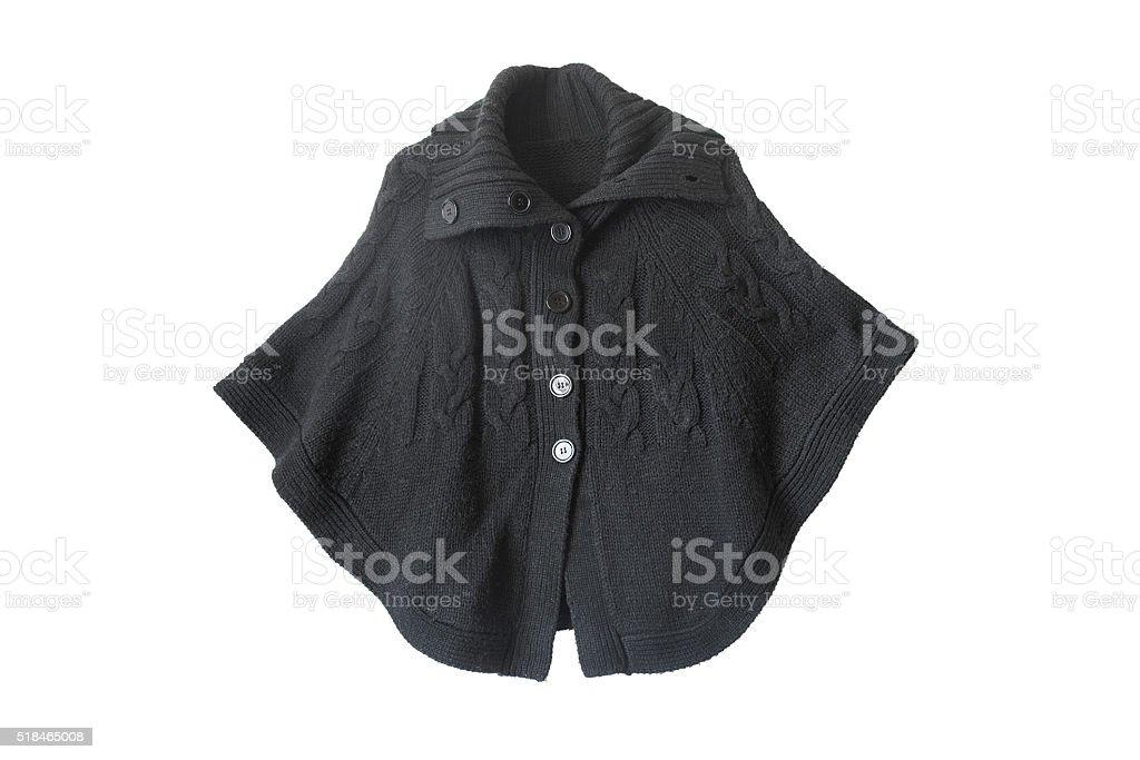 Black cape stock photo
