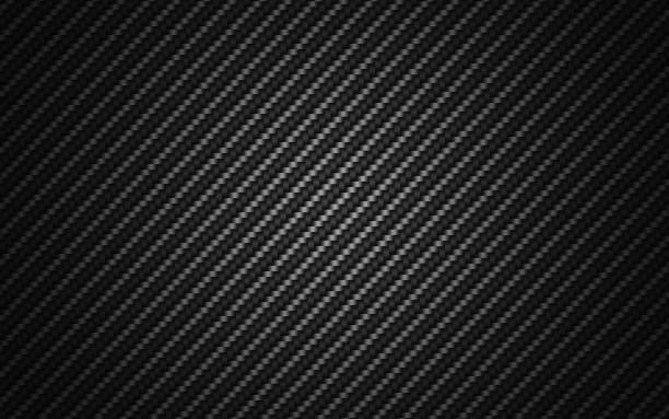 black carbon fiber background. - mesh textile stock photos and pictures