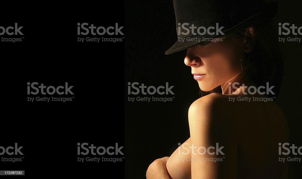 Black Card royalty-free stock photo