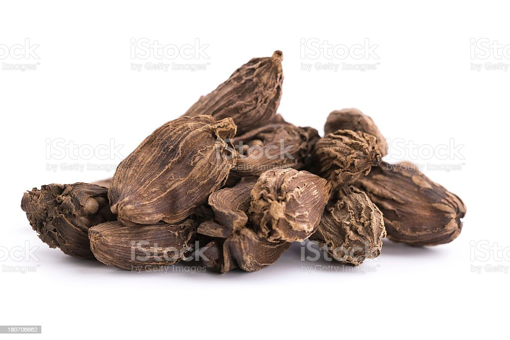 black cardamom royalty-free stock photo