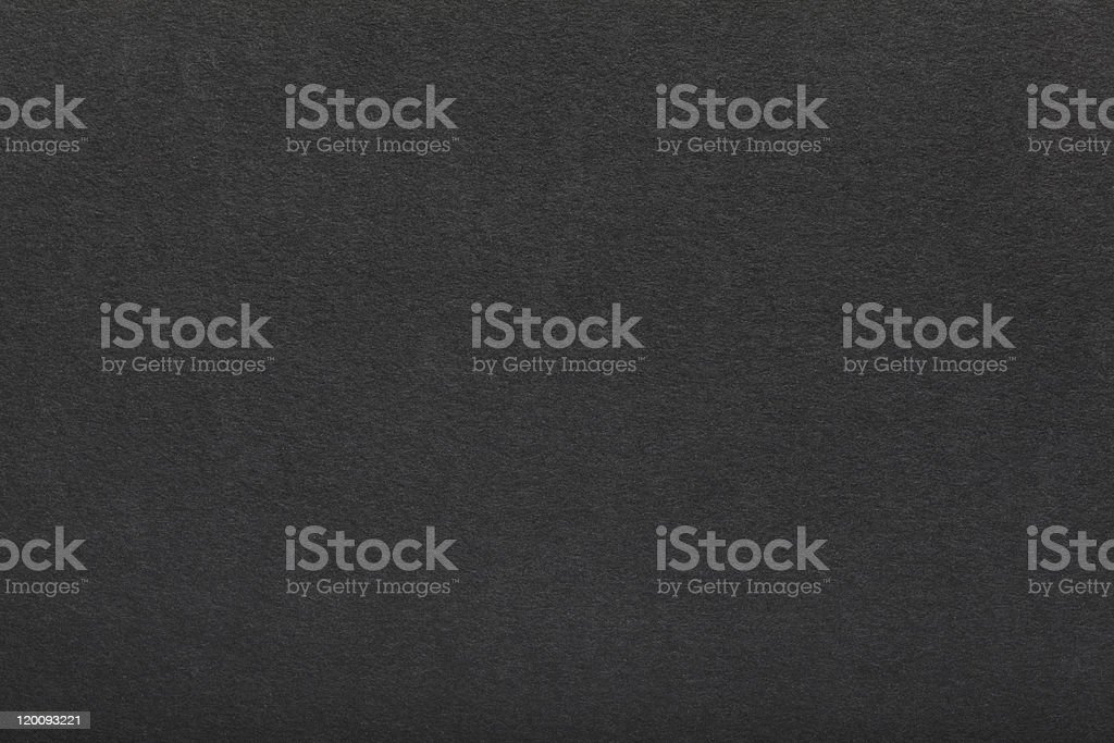Black cardboard stock photo