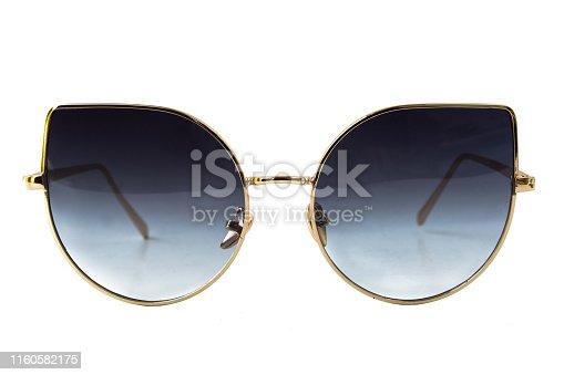 1047544590 istock photo Black Cat Eye Sunglasses 1160582175