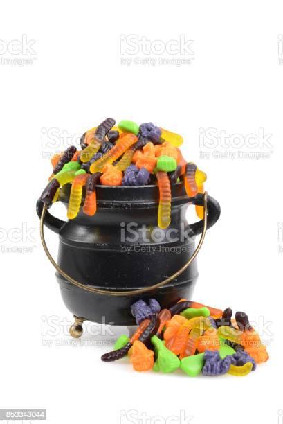 Black cauldron of halloween candy picture id853343044?b=1&k=6&m=853343044&s=612x612&h=xcdgckj7tzxvzb8flai2ogp4ynrf1tvkyzmnvqne1re=
