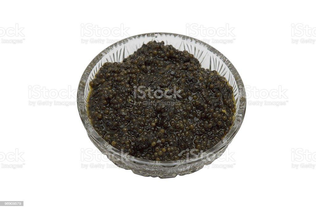 black caviar royalty-free stock photo