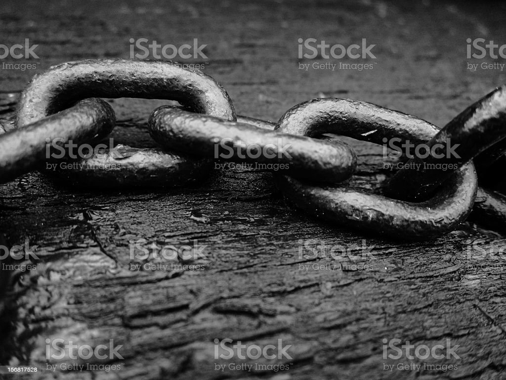 black chain royalty-free stock photo
