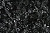 istock Black charcoal background 971582132