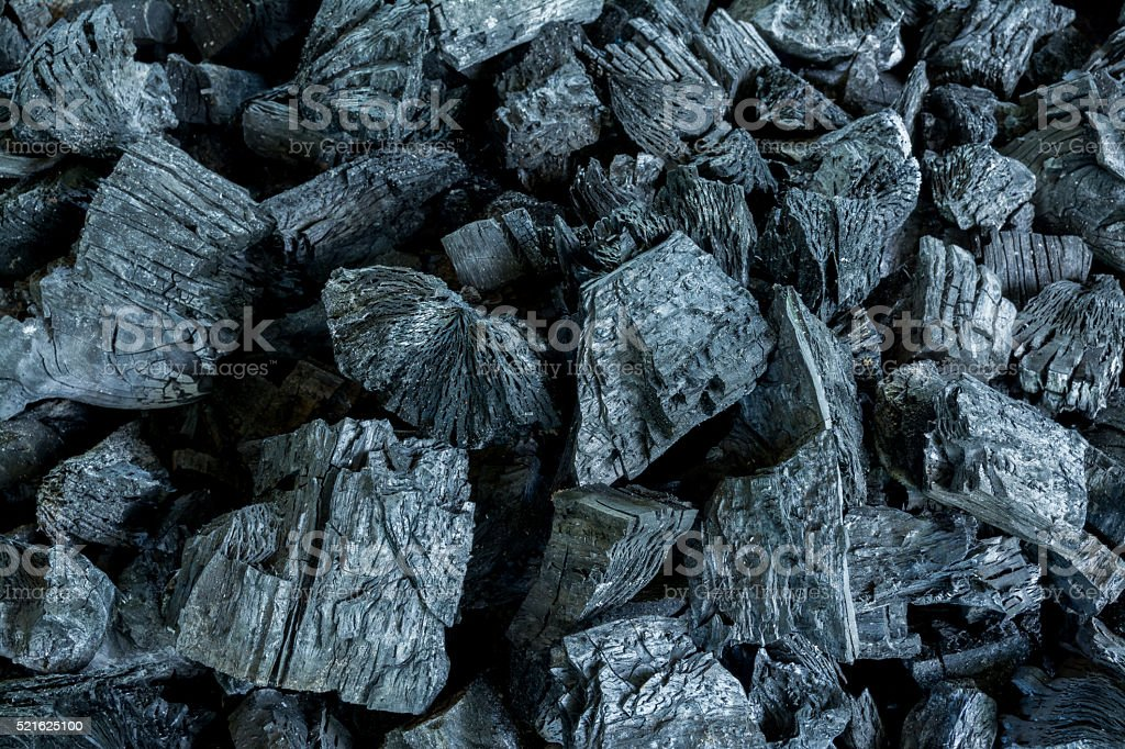 Black Charcoal Texture Background stock photo