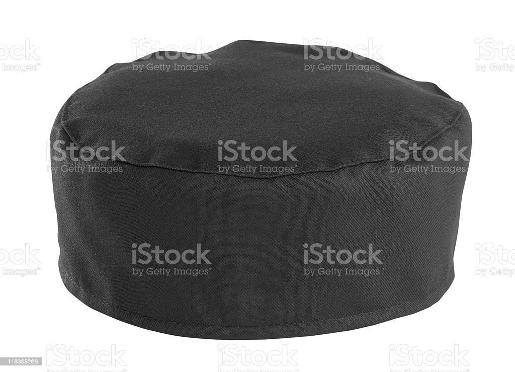 Black Chefs Hat stock photo