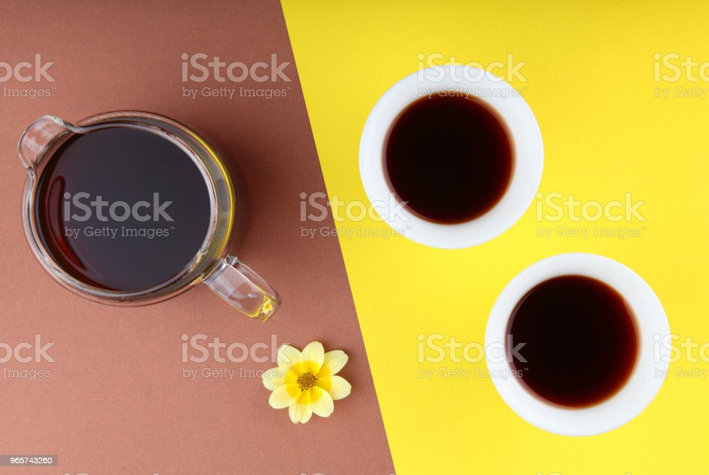 Black Chinese Tea Puer - Royalty-free Asia Stock Photo