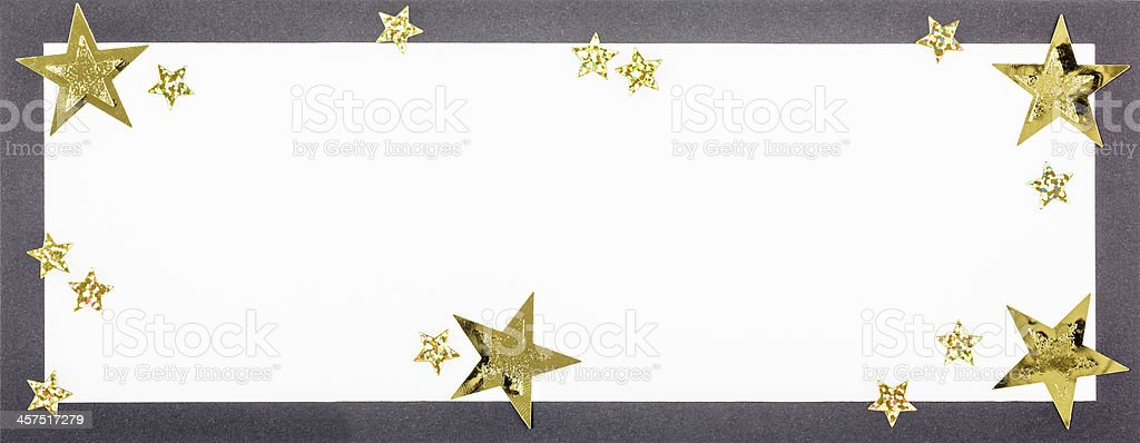 Black christmas card stock photo