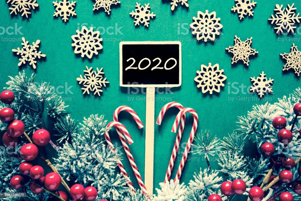 2020 Christmas Looks Black Christmas Sign Lights Text 2020 Retro Look Stock Photo