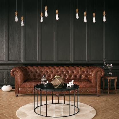 istock Black Classic Interior 926239100